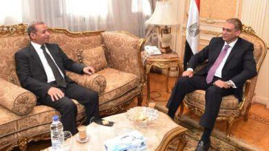 صورة جريدة عاجل مصر الاخبارية تهنئ المستشار محمود عتمان لتولية الامين العام لمجلس الشيوخ