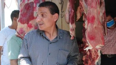 صورة لجنة حماية المستهلك إعدام لحوم وضبط أربعة شيشة باخميم