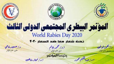 """صورة السبت القادم .. انطلاق فعاليات المؤتمر البيطري المجتمعي الثالث تحت عنوان """" معا ضد مرض السعار في مصر """""""
