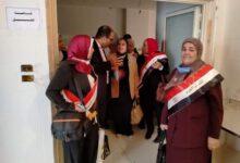 """صورة أعضاء """"كُتلة ستات وشباب أدً التحدًي"""" و جهودهم في خدمة المجتمع ببني سويف"""