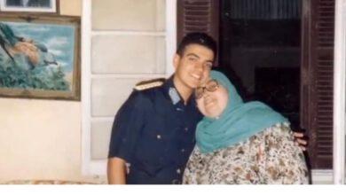 صورة وفاة والدة الشهيد أحمد منسى