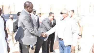 صورة وزارة الموارد المائيه والري تُنظم زيارة لوزير الري الجنوب سودانى للعاصمة الإدارية الجديدة