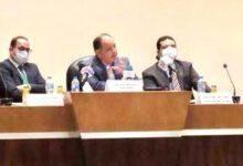 صورة في لقاء وزير المالية .. ياسمين خميس : الصناعة قاطرة التنمية